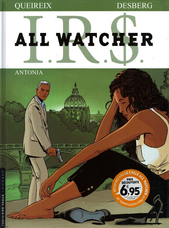 Couverture de I.R.$. - All Watcher -1- Antonia