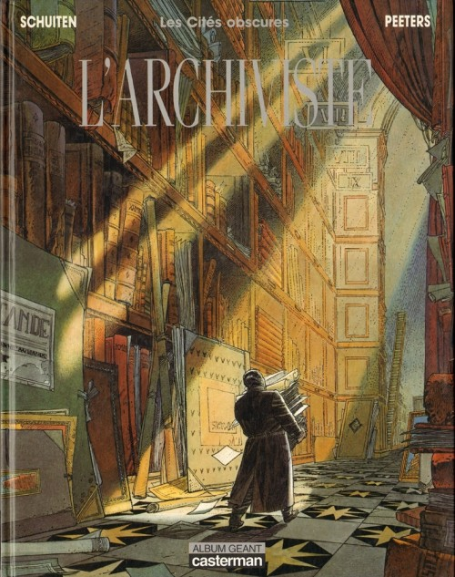 Couverture de Les cités obscures -H02- L'archiviste