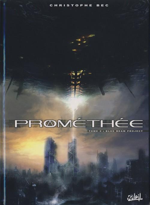 Couverture de Prométhée -2- Blue beam project