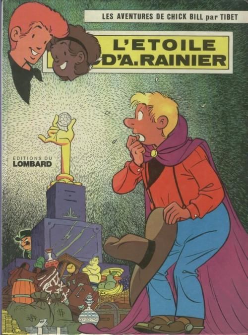 Couverture de Chick Bill -934- L'Étoile d'A. Rainier