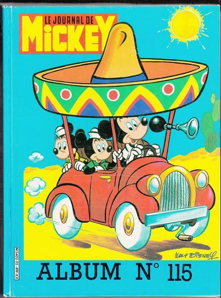 Couverture de (Recueil) Mickey (Le Journal de) -115- Album n°115 (n°1714 à 1723)