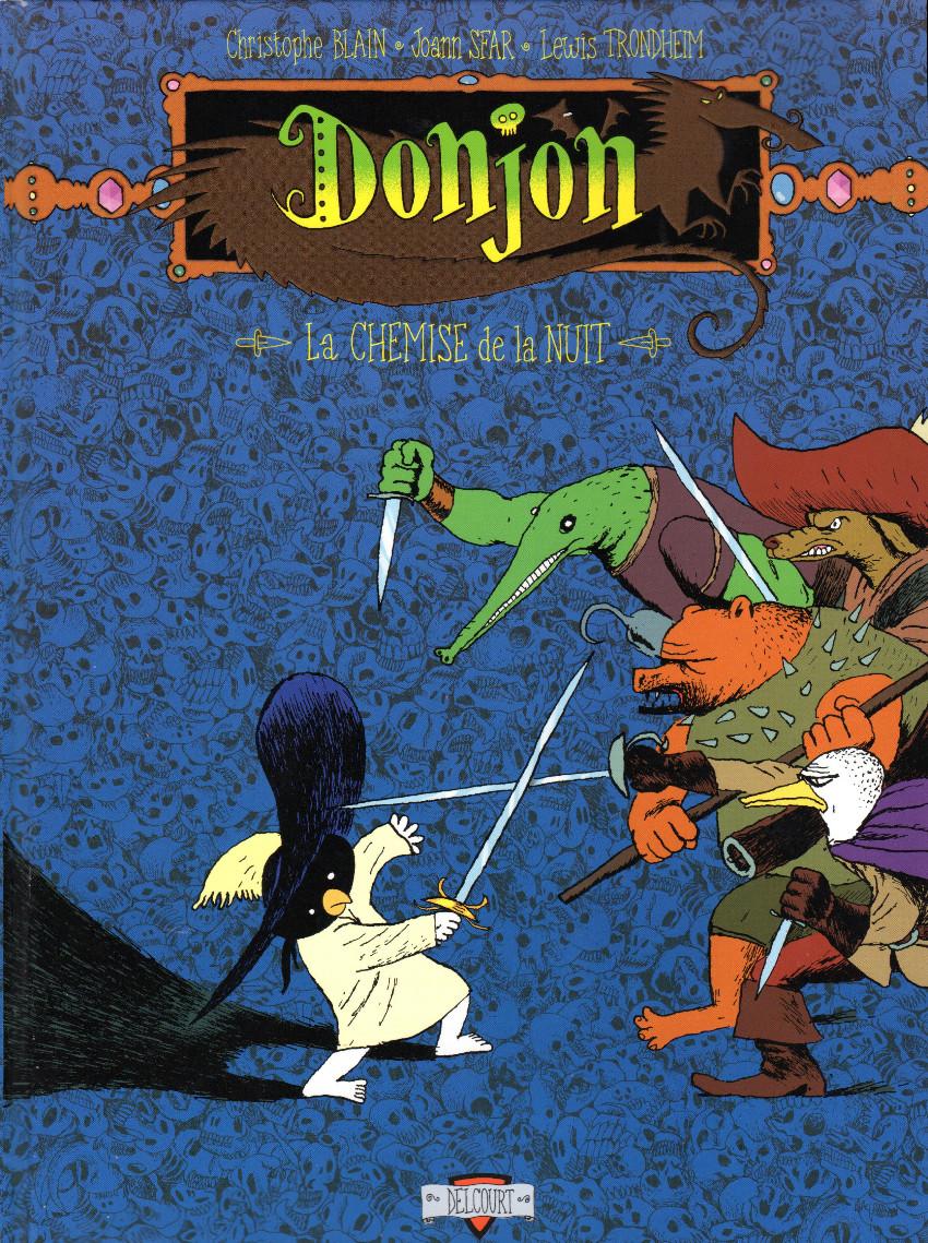 Couverture de Donjon Potron-Minet --99- La chemise de la nuit