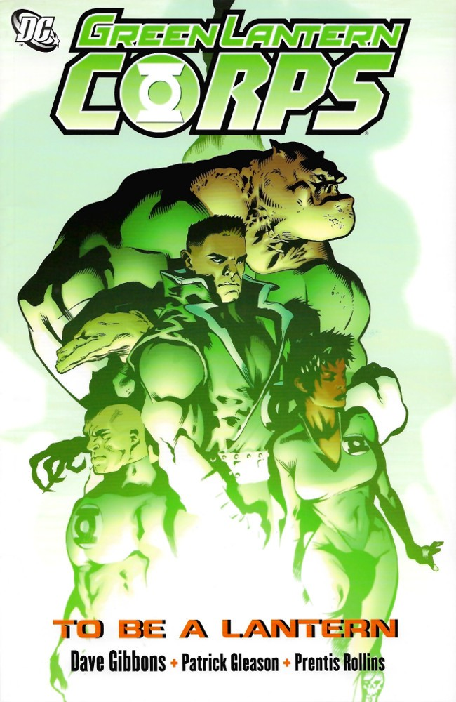 Couverture de Green Lantern Corps (2006) -INT01- To Be A Lantern