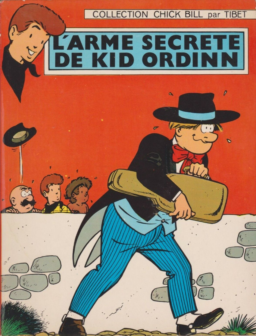 Couverture de Chick Bill (collection Chick Bill) -6- L'arme secrète de Kid Ordinn