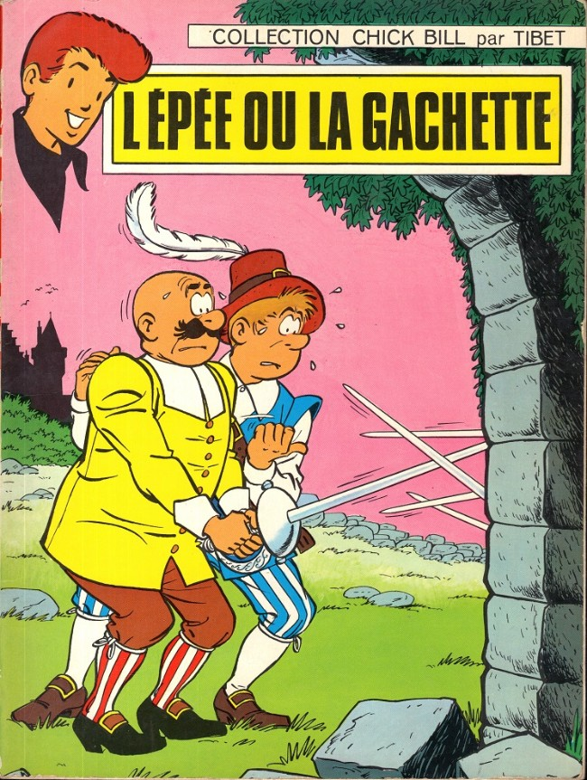 Couverture de Chick Bill (collection Chick Bill) -3- L'épée ou la gachette