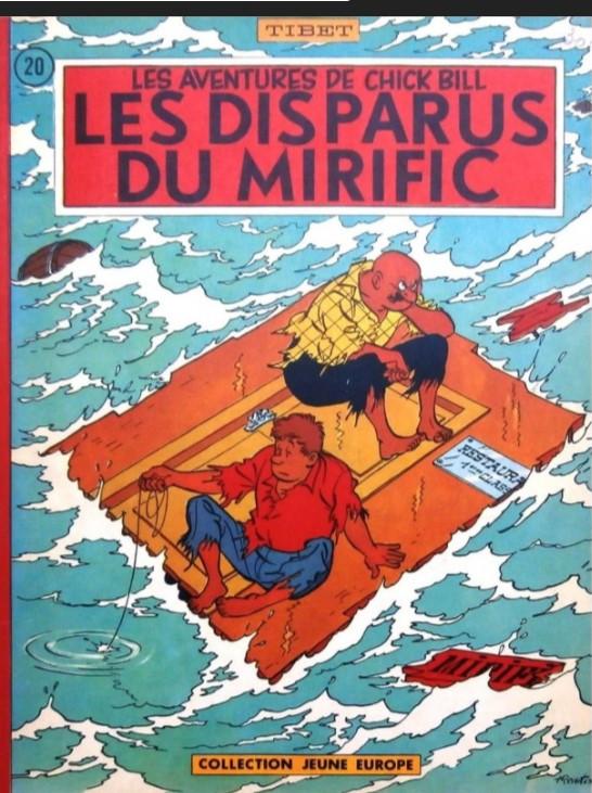 Couverture de Chick Bill (collection Jeune Europe) -120- Les disparus du Mirific