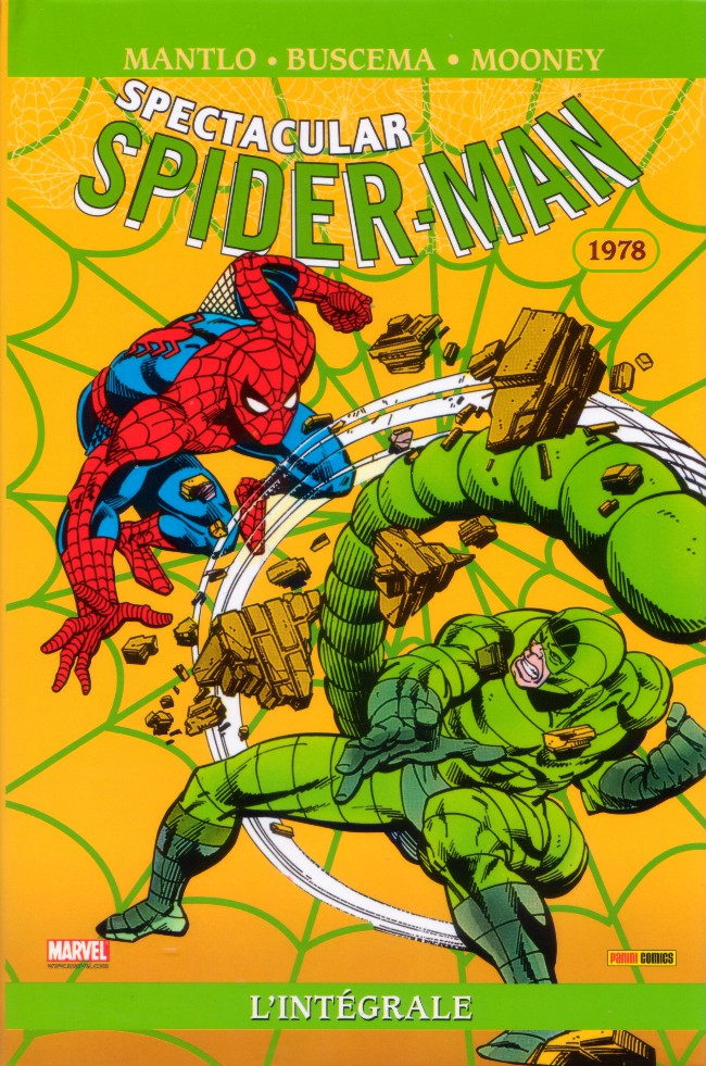 Couverture de Spectacular Spider-Man (L'intégrale) -2- Spider-man : l'Intégrale 1978