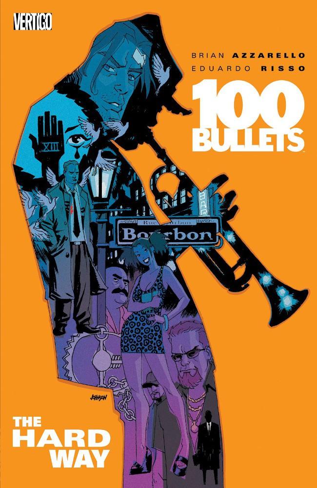 Couverture de 100 Bullets (1999) -INT08- The hard way