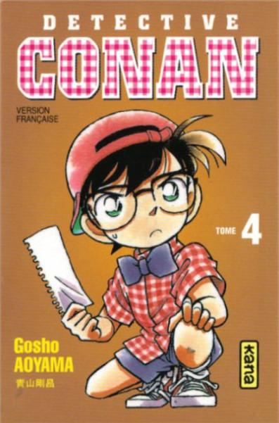 Couverture de Détective Conan -4- Tome 4