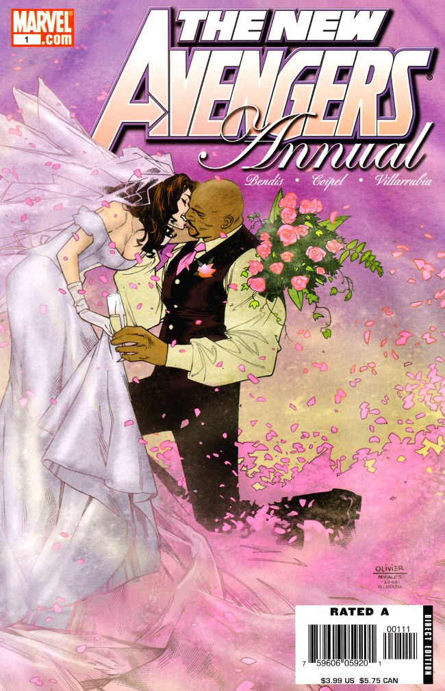 Couverture de New Avengers (The) (2005) -AN1- Annual : Wedding