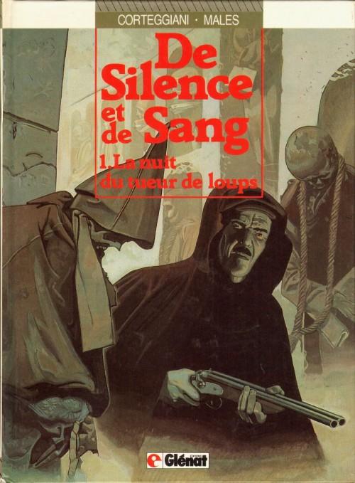 Couverture de De silence et de sang -1- La nuit du tueur de loups