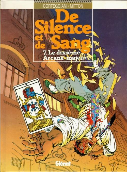 Couverture de De silence et de sang -7- Le 10e Arcane majeur