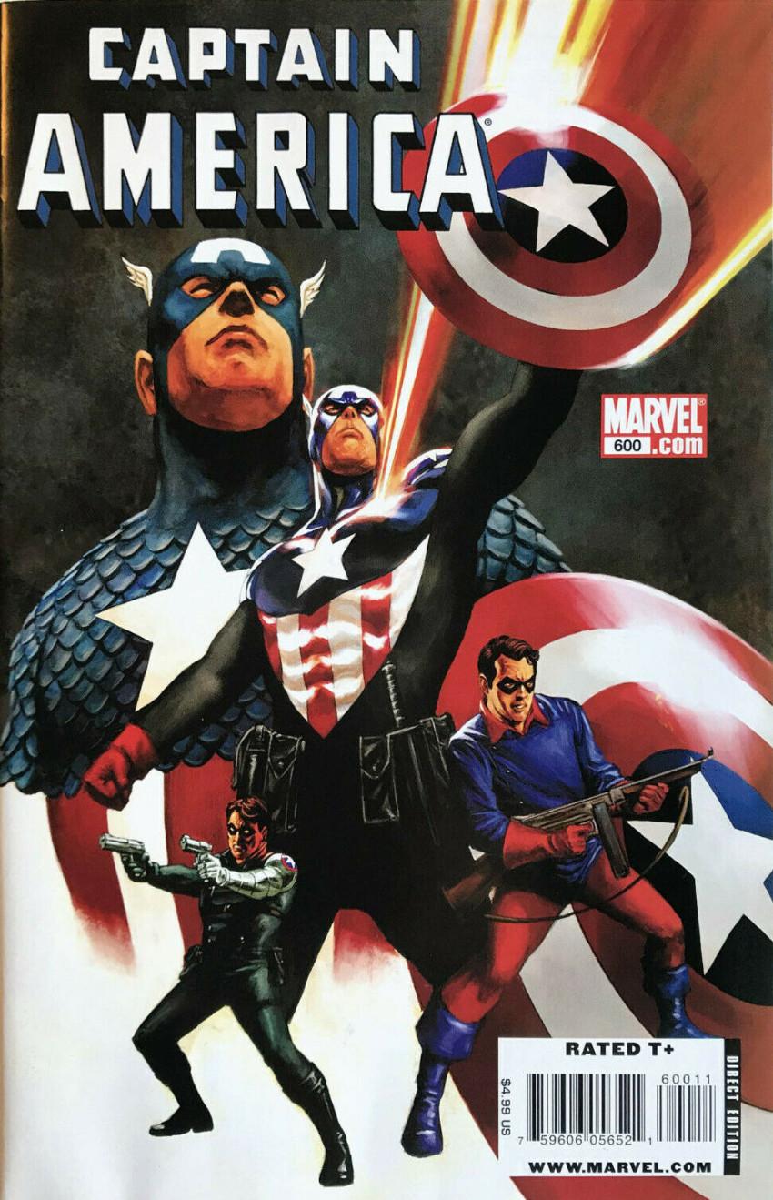 Couverture de Captain America (Marvel comics - 1968) -600- One year after
