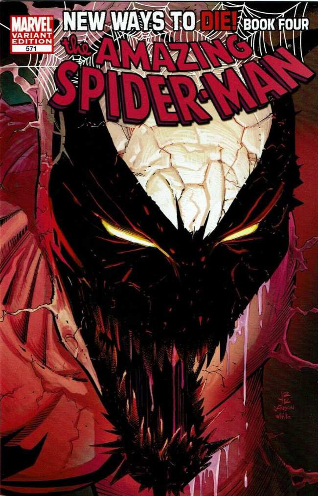 Couverture de Amazing Spider-Man (The) Vol.2 (Marvel comics - 1999) -571VC- New ways to die part 4 : opposites attack