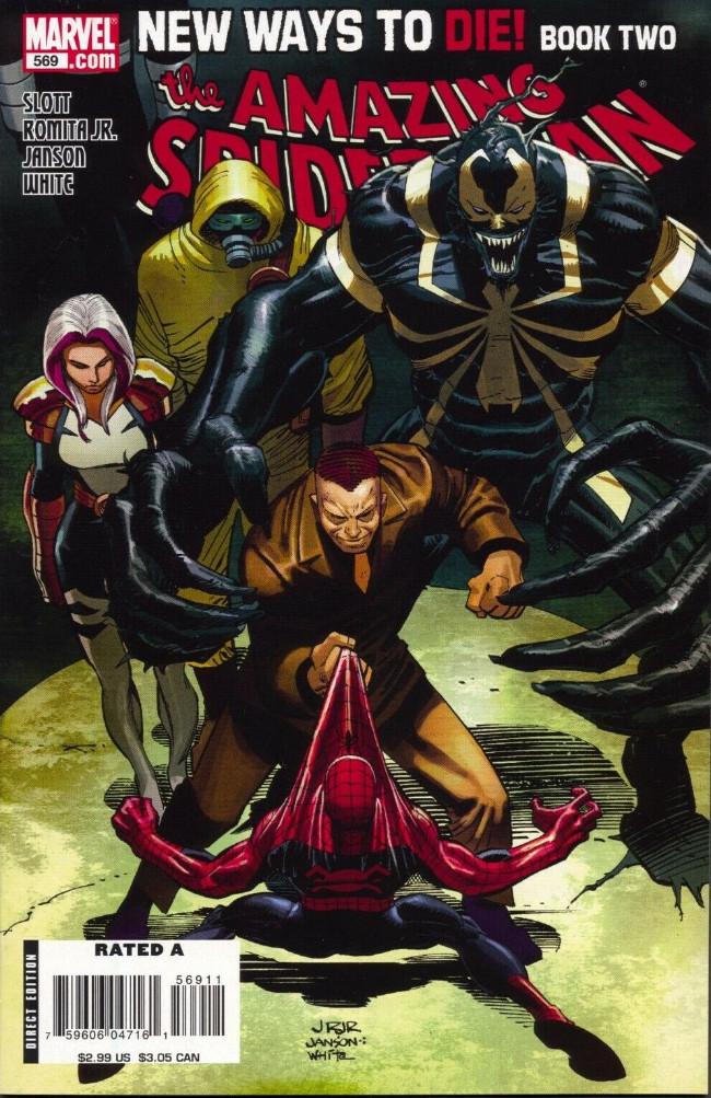 Couverture de Amazing Spider-Man (The) Vol.2 (Marvel comics - 1999) -569- New ways to die part 2 : the Osborn supremacy
