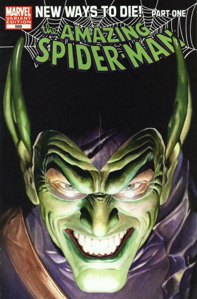 Couverture de Amazing Spider-Man (The) Vol.2 (Marvel comics - 1999) -568VC- New ways to die part 1 : back with vengeance