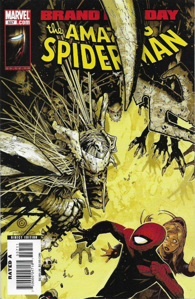Couverture de Amazing Spider-Man (The) Vol.2 (Marvel comics - 1999) -557- Dead of winter