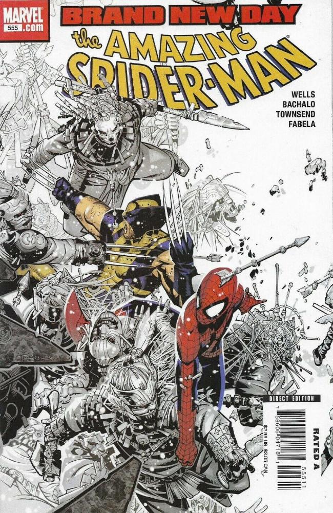 Couverture de Amazing Spider-Man (The) Vol.2 (Marvel comics - 1999) -555- Sometimes it snows in april