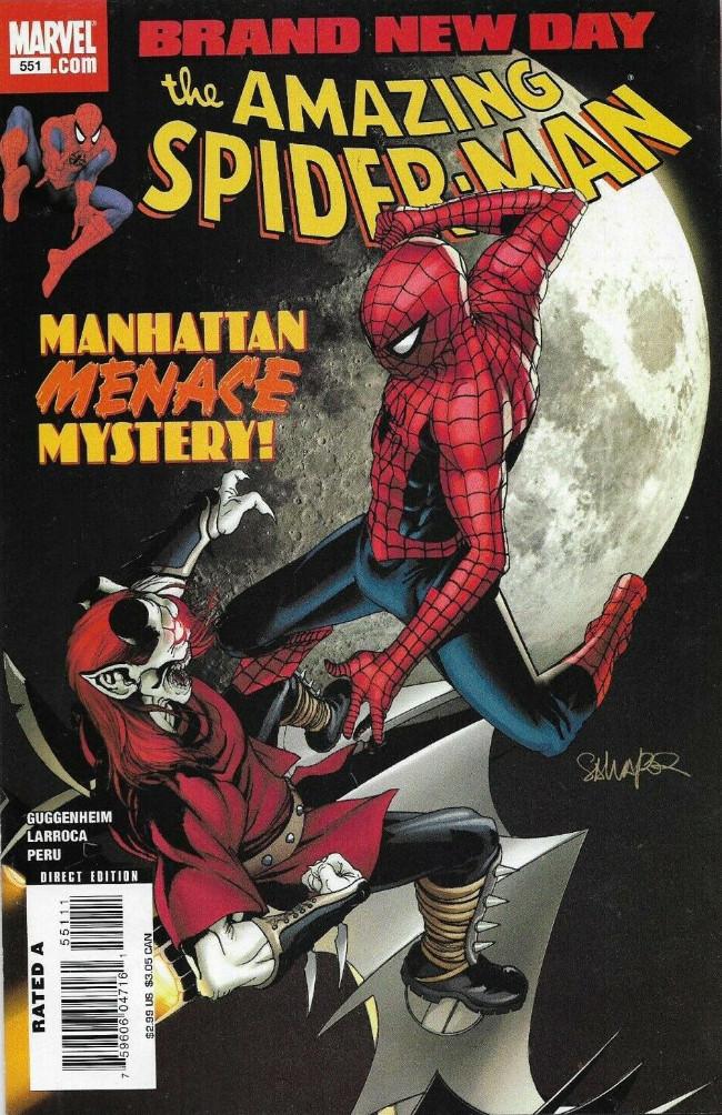 Couverture de Amazing Spider-Man (The) Vol.2 (Marvel comics - 1999) -551- Lo, There Shall Come a Menace!!