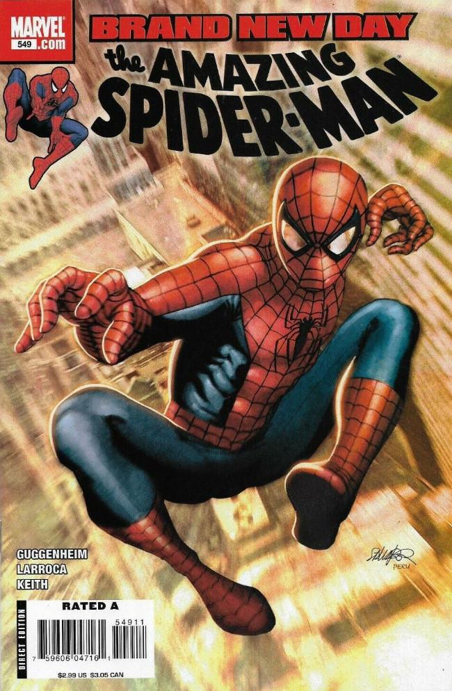 Couverture de Amazing Spider-Man (The) Vol.2 (Marvel comics - 1999) -549- Who's That Girl?