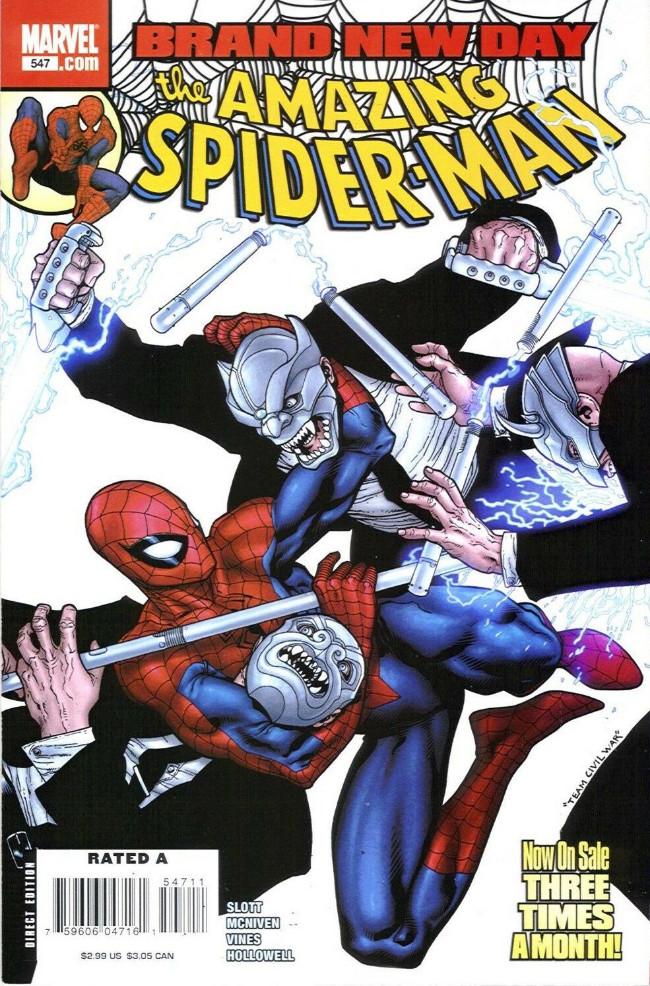 Couverture de Amazing Spider-Man (The) Vol.2 (Marvel comics - 1999) -547- Crimes of the heart