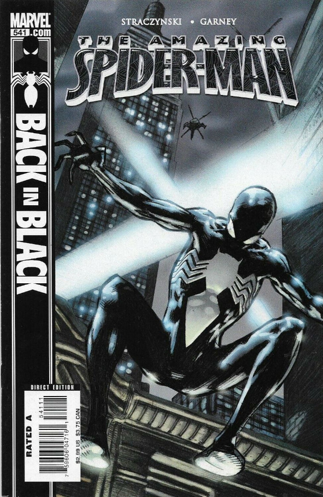 Couverture de Amazing Spider-Man (The) Vol.2 (Marvel comics - 1999) -541- Back in Black Part 3