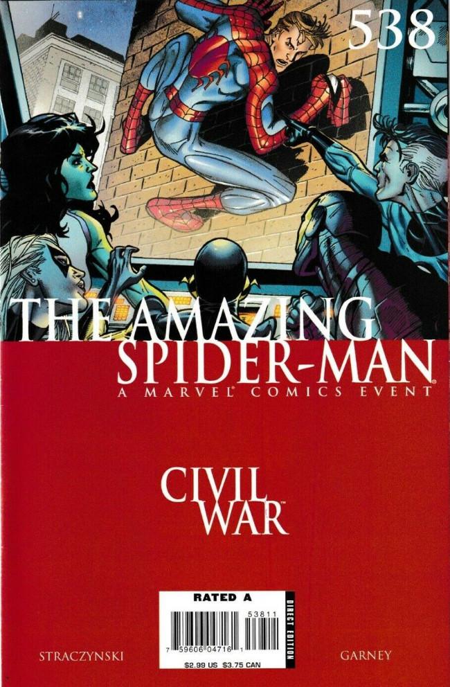 Couverture de Amazing Spider-Man (The) Vol.2 (Marvel comics - 1999) -538- The War at Home Part 7
