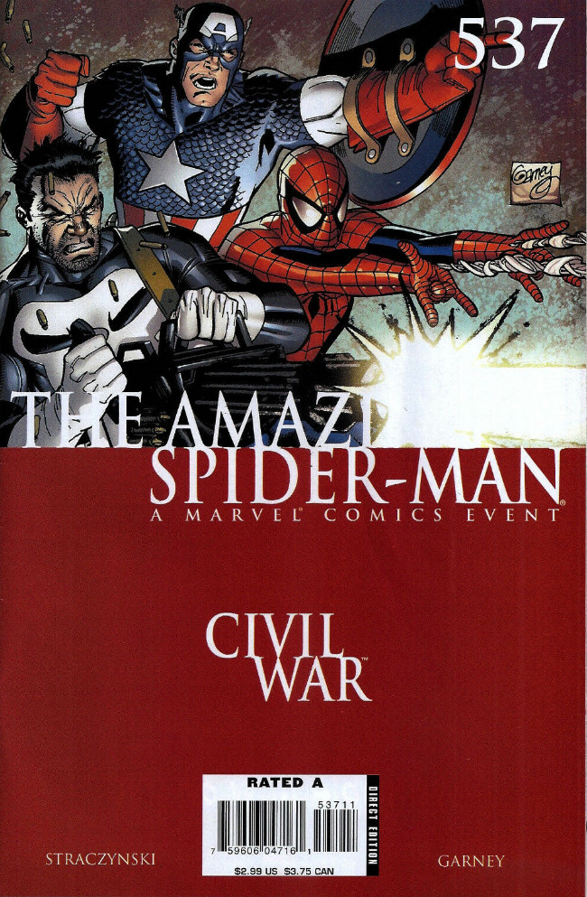 Couverture de Amazing Spider-Man (The) Vol.2 (Marvel comics - 1999) -537- The War at Home Part 6 of 7