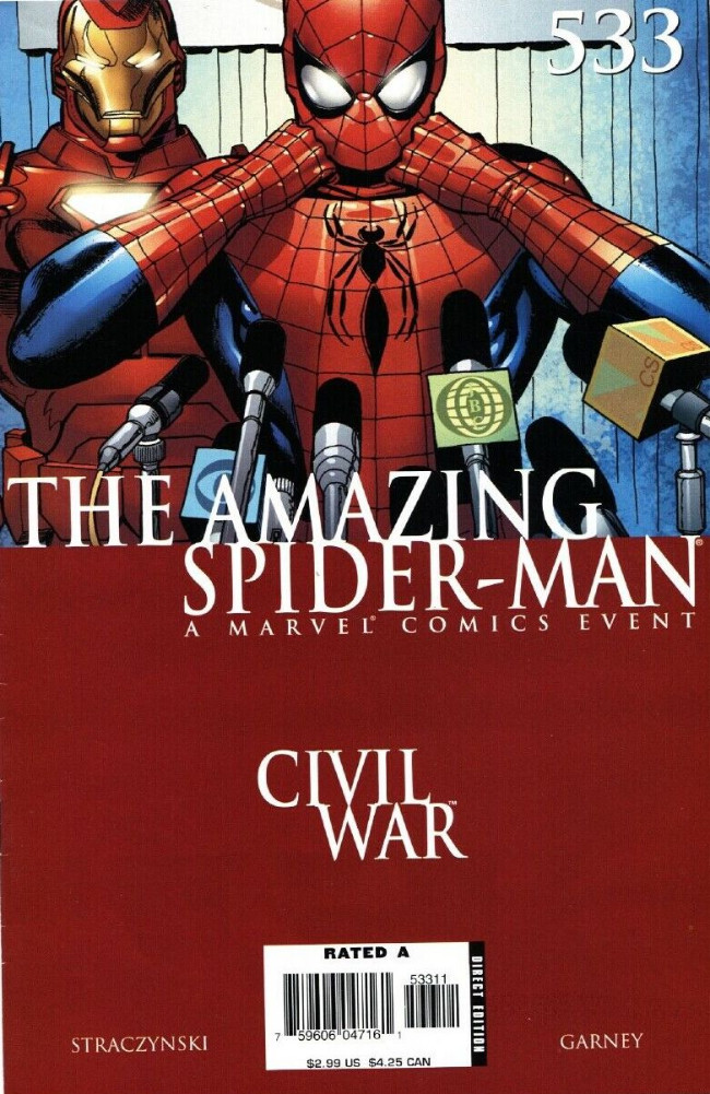 Couverture de Amazing Spider-Man (The) Vol.2 (Marvel comics - 1999) -533- The Night the War Came Home Part Two