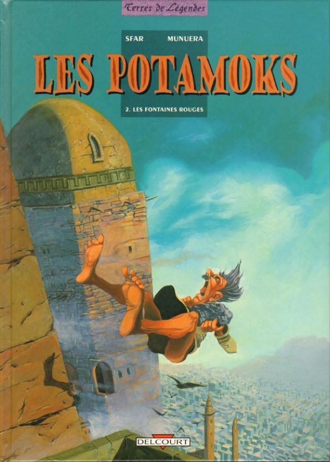 Couverture de Les potamoks -2- Les fontaines rouges