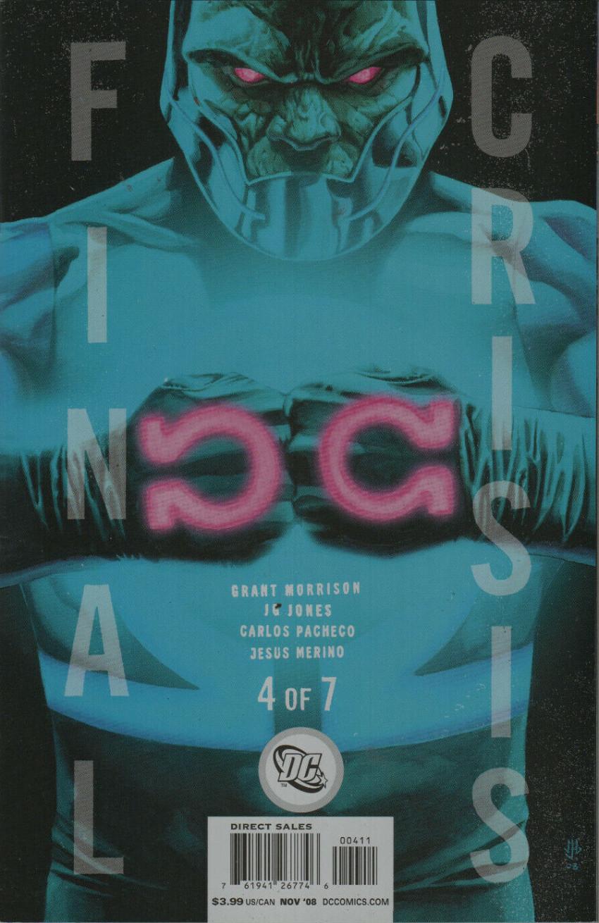 Couverture de Final Crisis (2008) -4- Darkseid says