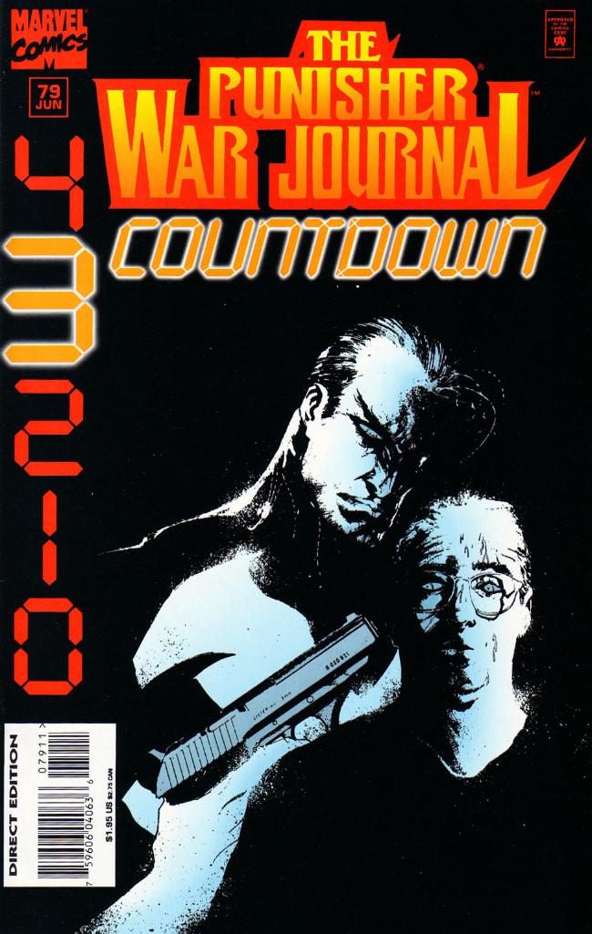 Couverture de Punisher War Journal Vol.1 (Marvel comics - 1988) -79- House of the dead - countdown : 3