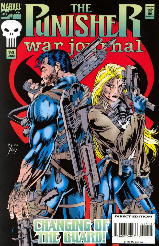 Couverture de Punisher War Journal Vol.1 (Marvel comics - 1988) -74- Final entry part 4 : deadstop