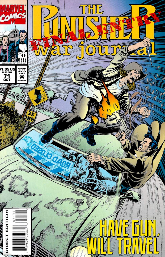 Couverture de Punisher War Journal Vol.1 (Marvel comics - 1988) -71- Final entry part 1 : road to death