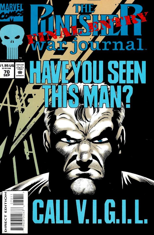 Couverture de Punisher War Journal Vol.1 (Marvel comics - 1988) -70- Final entry prelude : warm bodies