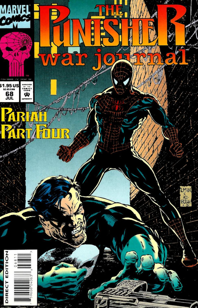Couverture de Punisher War Journal Vol.1 (Marvel comics - 1988) -68- Pariah part 4 : bad turn