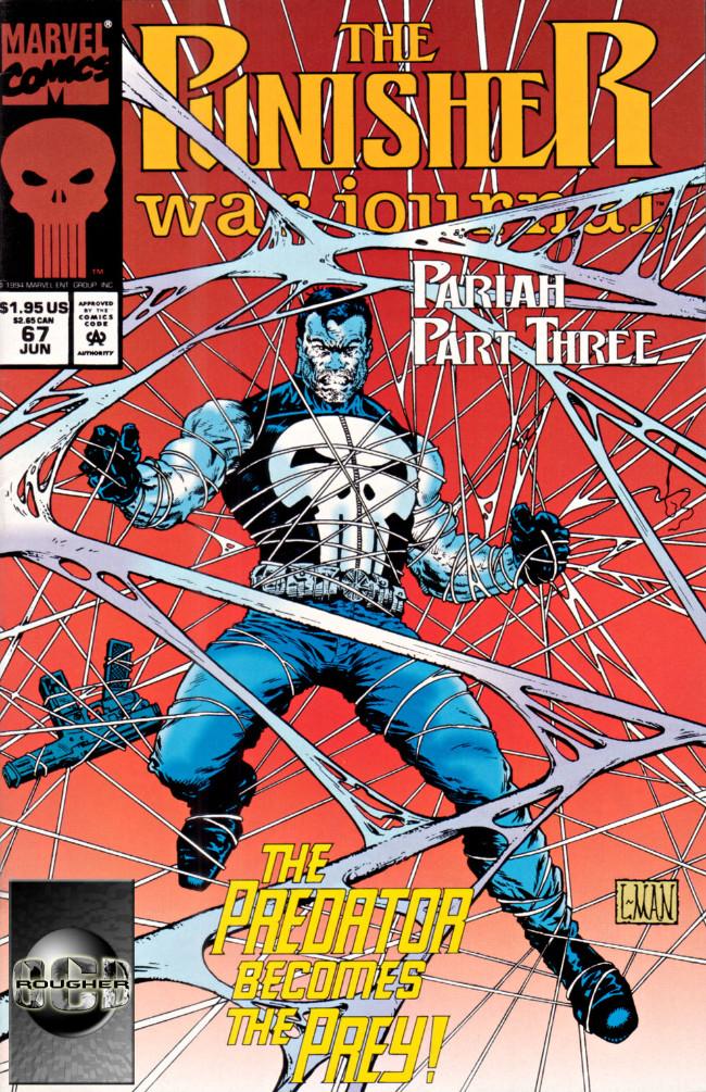 Couverture de Punisher War Journal Vol.1 (Marvel comics - 1988) -67- Pariah part 3 : nailed