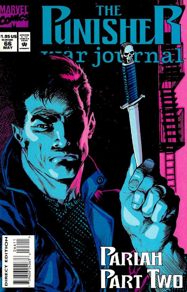 Couverture de Punisher War Journal Vol.1 (Marvel comics - 1988) -66- Pariah part 2