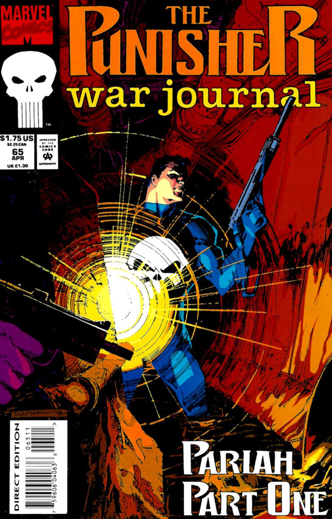 Couverture de Punisher War Journal Vol.1 (Marvel comics - 1988) -65- Pariah part 1