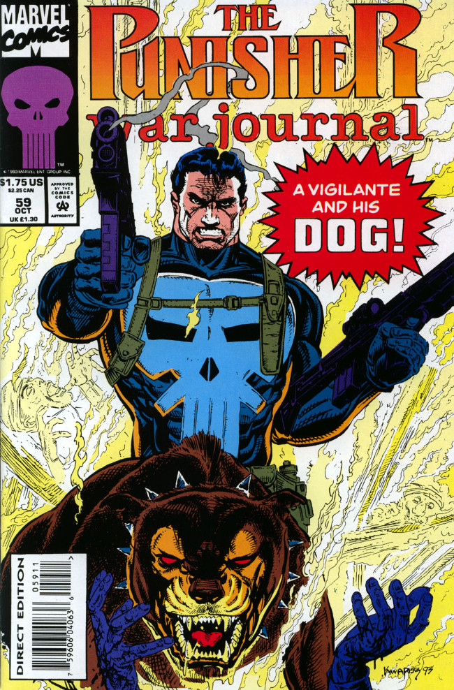 Couverture de Punisher War Journal Vol.1 (Marvel comics - 1988) -59- The house that hate built