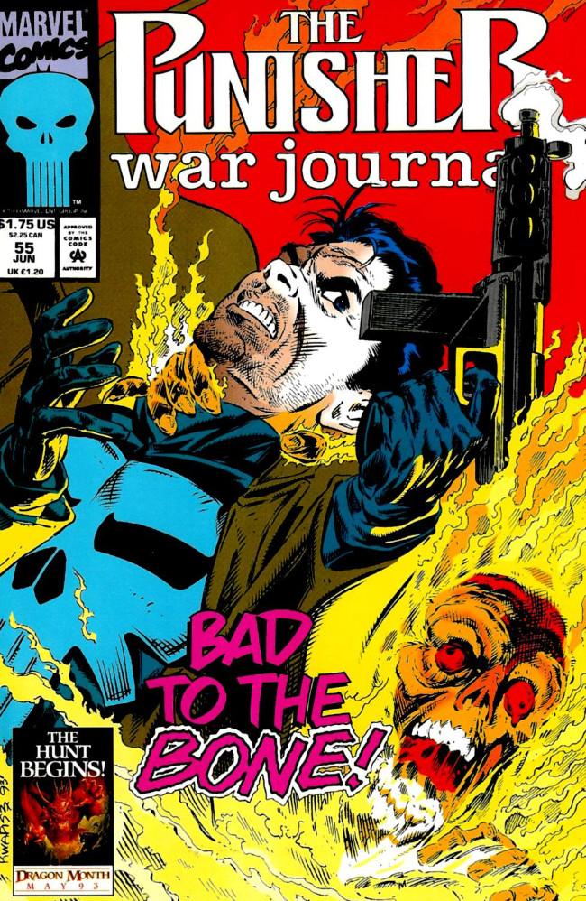 Couverture de Punisher War Journal Vol.1 (Marvel comics - 1988) -55- Bad boys