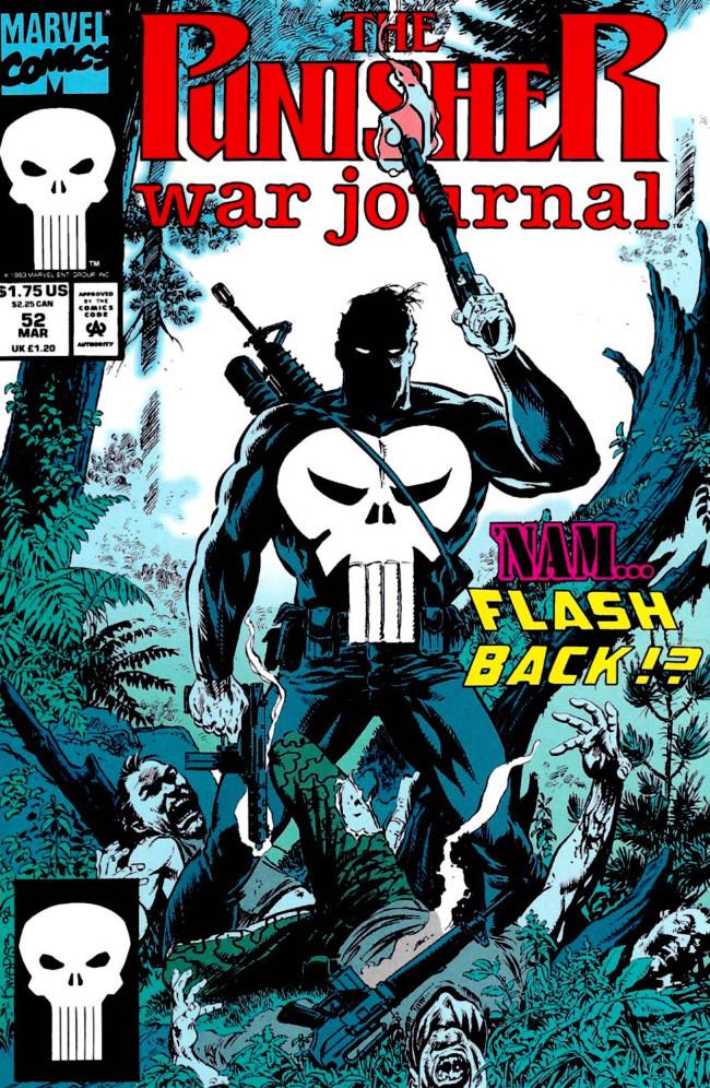 Couverture de Punisher War Journal Vol.1 (Marvel comics - 1988) -52- Heart of ice