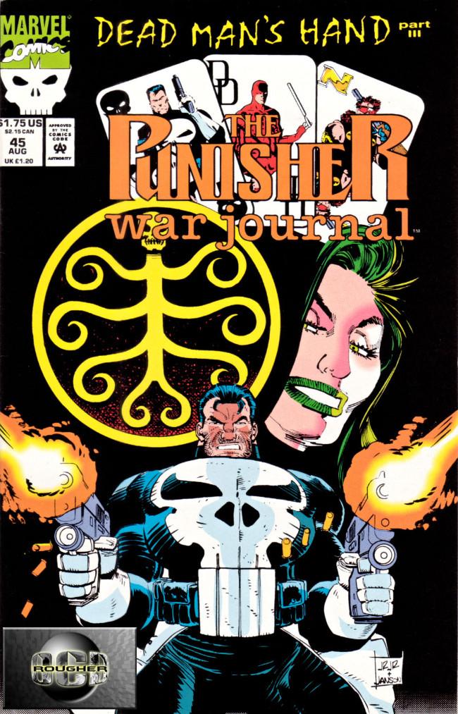 Couverture de Punisher War Journal Vol.1 (Marvel comics - 1988) -45- Dead man's hand part 3 : the vegas idea