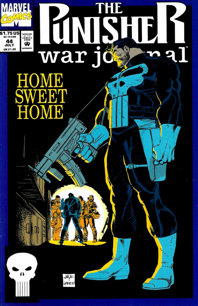 Couverture de Punisher War Journal Vol.1 (Marvel comics - 1988) -44- Barbarians