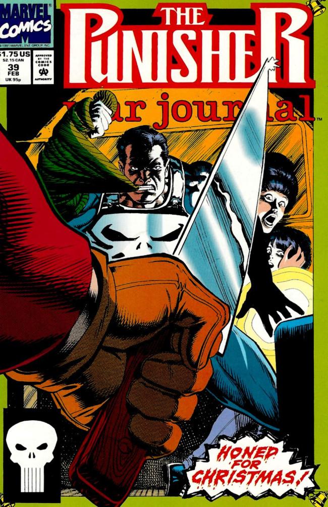 Couverture de Punisher War Journal Vol.1 (Marvel comics - 1988) -39- Slay ride
