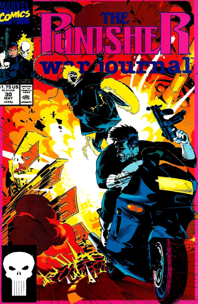 Couverture de Punisher War Journal Vol.1 (Marvel comics - 1988) -30- Spin cycle
