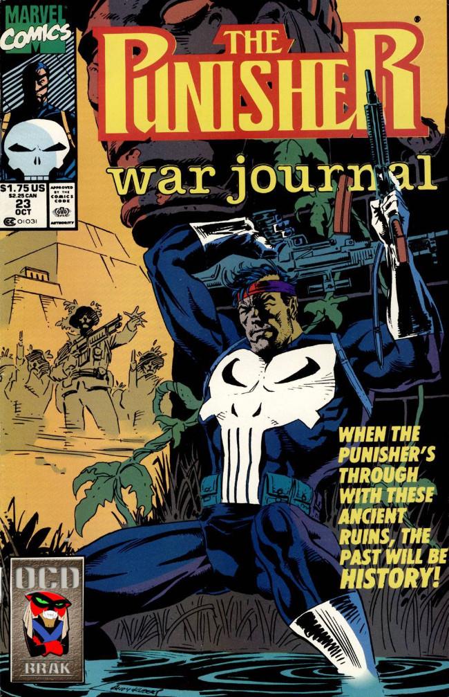 Couverture de Punisher War Journal Vol.1 (Marvel comics - 1988) -23- Firepower among the ruins part 1