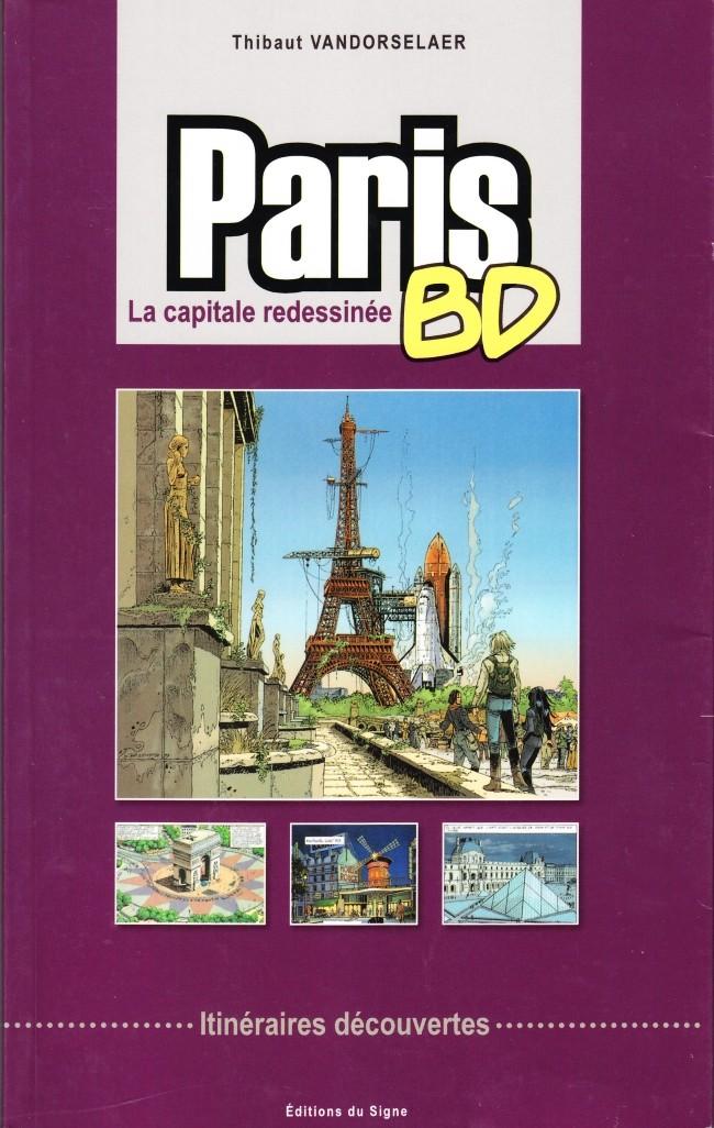 Couverture de (DOC) Études et essais divers -7- Paris BD - La capitale redessinée - Itinéraires découvertes