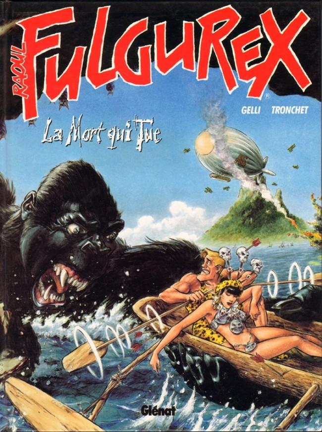 Couverture de Raoul Fulgurex -2- La mort qui tue
