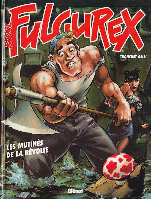 Couverture de Raoul Fulgurex -3- Les mutinés de la révolte
